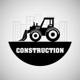 Construction design. truck icon. repair concept, vector illustration. Construction concept with icon design, vector illustration 10 eps graphic Stock Images