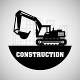Construction design. truck icon. repair concept, vector illustration. Construction concept with icon design, vector illustration 10 eps graphic Royalty Free Stock Photo