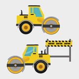 Construction design. truck icon. repair concept, vector illustration. Construction concept with icon design, vector illustration 10 eps graphic Royalty Free Stock Photography