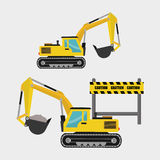 Construction design. truck icon. repair concept, vector illustration. Construction concept with icon design, vector illustration 10 eps graphic Stock Photography