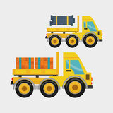 Construction design. truck icon. repair concept, vector illustration. Construction concept with icon design, vector illustration 10 eps graphic Stock Photos