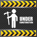 Construction design, vector illustration. Royalty Free Stock Image