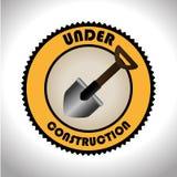 Construction design, vector illustration. Royalty Free Stock Photos