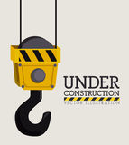 Construction design,vector ilustration. Stock Photos