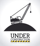 Construction design,vector ilustration. Royalty Free Stock Photography