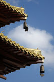 The construction details in Jingan Temple Stock Photos