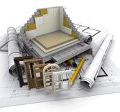 Construction details Stock Images