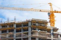 Construction development, constructing Royalty Free Stock Photos