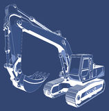 Construction Digger Royalty Free Stock Images