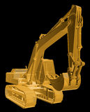 Construction Digger Stock Photography