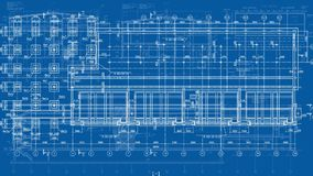 Construction Drawings Looped Backgrounds stock footage