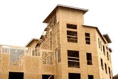 Construction du bois neuve Photos stock