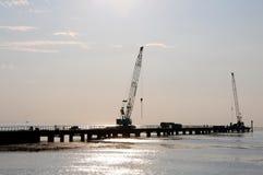 Construction du diamètre ultra-rapide occidental (WHSD) Photos stock