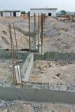 Construction du faisceau au sol Photographie stock libre de droits