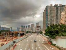 Construction du HK Image libre de droits