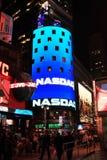 Construction du marché de Nasdaq Image stock