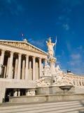 Construction du Parlement Images libres de droits