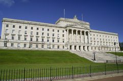 Construction du Parlement de Stormont photo stock