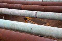 Construction du Roi Willem-Alexandertunnel Photo libre de droits
