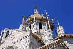 Construction du temple Photographie stock libre de droits