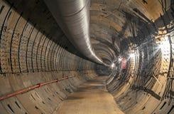 Construction du tunnel de souterrain photo libre de droits