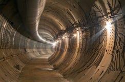 Construction du tunnel de souterrain photo stock