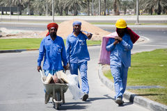Construction Dubaï Photographie stock