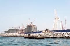 Construction of Dubai Eye, the world`s largest in Dubai, UAE Stock Photography
