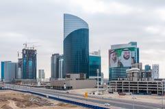 Construction in Dubai, the United Arab Emirates Royalty Free Stock Image