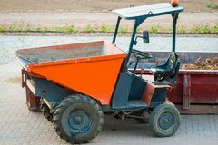 Construction dumper Royalty Free Stock Photo