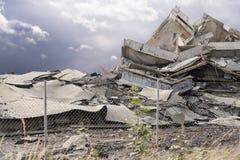 Construction effondrée Photographie stock libre de droits