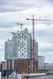Construction Elbe Philharmonic Hall, Hamburg Royalty Free Stock Images