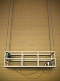 Construction elevator Royalty Free Stock Photo