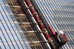 Construction Elevator Stock Photo