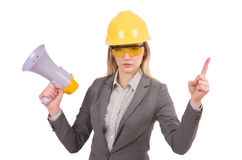 Construction employee Stock Images