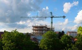 Construction en construction Photo libre de droits