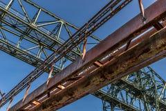 Construction en acier photo libre de droits