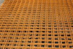 Construction en acier rouillée Image stock