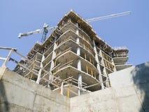 Construction en béton Photographie stock libre de droits