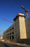 Construction en béton en construction Photos stock