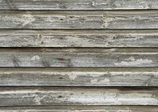 Construction en bois négligée Image libre de droits