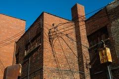 Construction en briques générique photo libre de droits