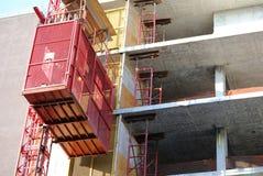 Construction en construction Photos stock