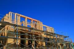 Construction en construction images libres de droits