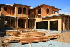 Construction en construction Image stock