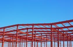 Construction en métal Photographie stock