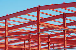 Construction en métal Photos libres de droits