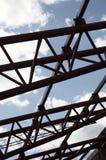 Construction en métal images stock