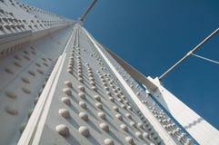 Construction en métal blanc Images libres de droits