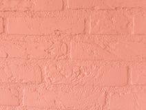 Construction en pierre rose-clair douce moderne de mur de briques de grand modèle en pierre de fond de cru de briques photo libre de droits